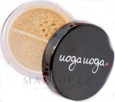 Přírodní sypký pudr - Uoga Uoga Natural Foundation Powder with Amber SPF 15 — foto 631 - Never Sleeping Beauty