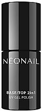Parfémy, Parfumerie, kosmetika Podkladový a svrchní lak 2v1 - NeoNail Professional Base/Top 2in1 UV Gel Polish