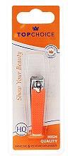 Parfémy, Parfumerie, kosmetika Nůžky na nehty 76947, neonové, oranžové - Top Choice Colours Nail Clippers