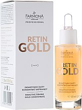 Parfémy, Parfumerie, kosmetika Bioaktivní zlatý koncentrát na obličej - Farmona Professional Retin Gold Concentrate