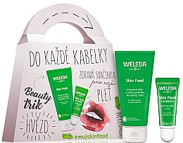 Parfémy, Parfumerie, kosmetika Sada - Weleda Skin Food (cr/30ml+lip/balm/8ml)