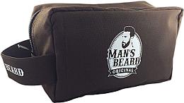 Parfémy, Parfumerie, kosmetika Pánská cestovní kosmetická taštička textilní, obdélníková - Man's Beard Men's Toiletry Bag