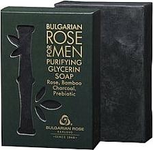 Parfémy, Parfumerie, kosmetika Glycerinové mýdlo - Bulgarian Rose For Men Purifying Glycerin Soap