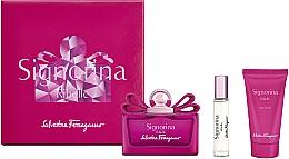 Parfémy, Parfumerie, kosmetika Salvatore Ferragamo Signorina Ribelle - Sada (edp/100ml +edp/10ml+ b/lot/50ml)