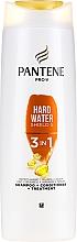 Parfémy, Parfumerie, kosmetika Šampon-kondicionér na vlasy - Pantene Pro-V Hard Water Shield 5 3in1 Shampoo