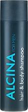Parfémy, Parfumerie, kosmetika Šampon na vlasy a tělo - Alcina Herrenpflege For Men Hair & Body Shampoo