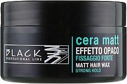 Parfémy, Parfumerie, kosmetika Vosk a matným efektem - Black Professional Line Cera Matt Effetto Opaco