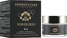 Parfémy, Parfumerie, kosmetika Ochranný krém na obličej proti vráskám - Dermofuture Power Bees Protective Anti-wrinkle Cream