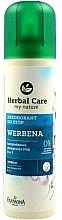 """Parfémy, Parfumerie, kosmetika Deodorant na nohy """"Verbena"""" - Farmona Herbal Care"""
