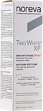 Parfémy, Parfumerie, kosmetika Krém proti pigmentovým skvrnám - Noreva Laboratoires Trio White XP Anti-Dark Spot Care SPF 50+