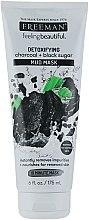 "Parfémy, Parfumerie, kosmetika Bahenní maska na obličej ""Uhlí, černý cukr"" - Freeman Feeling Beautiful Charcoal & Black Sugar Mud Mask"