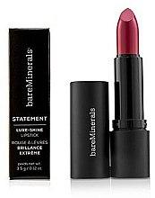 Parfémy, Parfumerie, kosmetika Dlouhotrvající lesklá rtěnka - Bare Escentuals Bare Minerals Statement Luxe Shine Lipstick