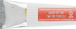 Parfémy, Parfumerie, kosmetika Scrub na obličej s olejem rakytníku a pomeranče - Uoga Uoga Time For Yourself Natural Face Scrub