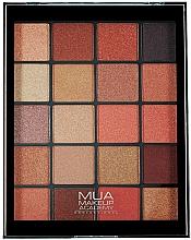 Parfémy, Parfumerie, kosmetika Paleta očních stínů - MUA 20 Shade Eyeshadow Palette