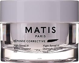 Parfémy, Parfumerie, kosmetika Intenzivní hydratační gelová maska na obličej - Matis Reponse Corrective Night Reveal 10 Overnight Corrective Mask