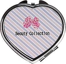 Parfémy, Parfumerie, kosmetika Kosmetické zrcátko, 85628 Kompakt Serce, růžovo béžové - Top Choice