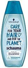 Parfémy, Parfumerie, kosmetika Hydratační šampon na vlasy - Schwarzkopf Schauma Care For Your Hair & For The Planet Moisturizing Shampoo