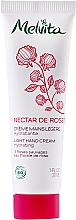 Parfémy, Parfumerie, kosmetika Jemný krém na ruce - Melvita Nectar De Rose Light Hand Cream