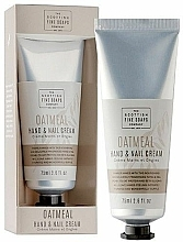 Parfémy, Parfumerie, kosmetika Krém na ruce - Scottish Fine Soaps Oatmeal Hand & Nail Cream