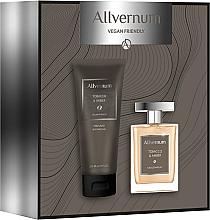 Parfémy, Parfumerie, kosmetika Allvernum Tobacco & Amber - Sada (edp/100ml + sh/gel/200ml)