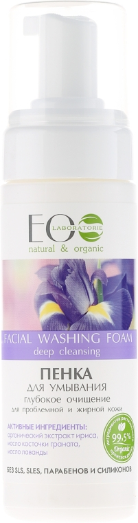 Pěna na umývani Hluboká očista - ECO Laboratorie Facial Washing Foam