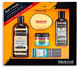 Parfémy, Parfumerie, kosmetika Sada - Nuggela & Sule Set (shm/100ml + shm/250ml + mask/50ml + h/spray/53ml + brush)