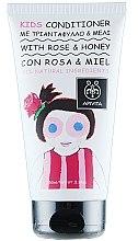 Parfémy, Parfumerie, kosmetika Dětský kondicionér s růží a medem - Apivita Babies & Kids Natural Baby Kids Conditioner With Honey & Rose Bulgarian