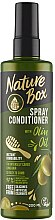 Parfémy, Parfumerie, kosmetika Sprej-kondicionér na vlasy - Nature Box Olive Oil Spray Conditioner