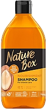 Parfémy, Parfumerie, kosmetika Šampon pro výživu a intenzivní péči o vlasy s arganovým olejem - Nature Box Nourishment Vegan Shampoo With Cold Pressed Argan Oil