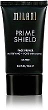 Parfémy, Parfumerie, kosmetika Matující podkladová báze pod make-up - Milani Prime Shield Face Primer Mattifying + Pore-minimizing