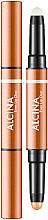 Parfémy, Parfumerie, kosmetika Rtěnka a primer 2 v 1 - Alcina Beauty To Go Even Lip Duo