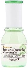 "Parfémy, Parfumerie, kosmetika Zklidňující esence ""Salát a okurka"" - SkinFood Premium Lettuce & Cucumber Watery Essence"