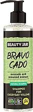 Parfémy, Parfumerie, kosmetika Šampon na vlasy - Beauty Jar Bravo Cado Natural Shampoo