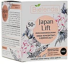 Parfémy, Parfumerie, kosmetika Zpevňující noční krémový koncentrát 50+ - Bielenda Japan Lift Night Cream 50+