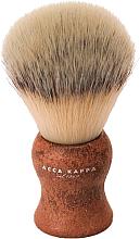 Parfémy, Parfumerie, kosmetika Holicí štětec - Acca Kappa Shaving Brush Natural Style Marrone