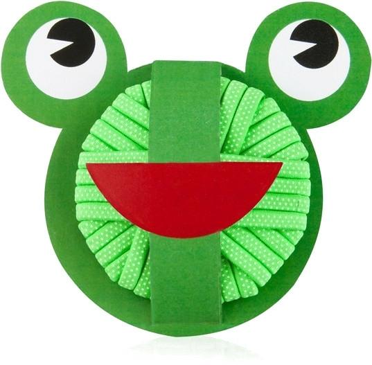 Gumičky na vlasy Sweet Frog, 20 ks - Donegal — foto N1
