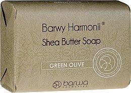 Parfémy, Parfumerie, kosmetika Mýdlo s extraktem zelených oliv - Barwa Harmony Green Olive Soap