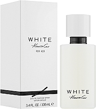Kenneth Cole White for Her - Parfémovaná voda  — foto N2