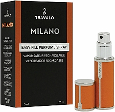 Parfémy, Parfumerie, kosmetika Atomizér - Travalo Milano Orange