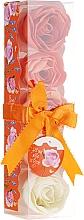Parfémy, Parfumerie, kosmetika Konfety do koupele Pomeranč, 5ks. - Spa Moments Bath Confetti Orange