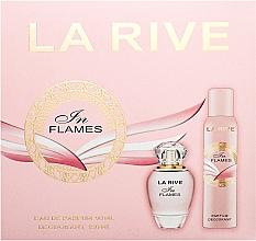 Parfémy, Parfumerie, kosmetika La Rive In Flames - Sada (edp/90ml + deo/150ml)