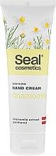 Parfémy, Parfumerie, kosmetika Změkčující krém na ruce s heřmánkem - Seal Cosmetics Soothing Hand Cream