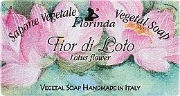 Parfémy, Parfumerie, kosmetika Mýdlo přírodní Lotosový květ - Florinda Sapone Vegetale Vegetal Soap Lotus Flower