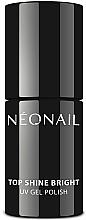 Parfémy, Parfumerie, kosmetika Svrchní lak s lesklým finišem - NeoNail Professional Top Shine Bright UV Gel Polish