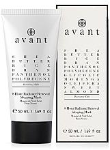 Parfémy, Parfumerie, kosmetika Noční regenerační maska, 8 hodin - Avant Discovery Edit 8 hour Radiance Renewal Sleeping Mask