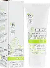 Parfémy, Parfumerie, kosmetika Peelingová maska na obliče - Styx Naturcosmetic 2in1 Mit Bio-Jojoba