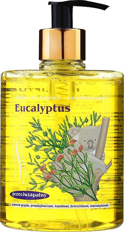 """Olej do koupele """"Eucalyptus"""" - Jadwiga — foto N1"""