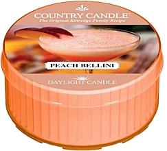 Parfémy, Parfumerie, kosmetika Čajová svíčka - Country Candle Peach Bellini Daylight