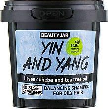 "Parfémy, Parfumerie, kosmetika Šampon pro mastné vlasy ""Yin and Yang"" - Beauty Jar Shampoo For Oily Hair"