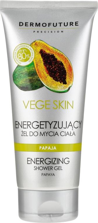 """Osvěžující sprchový gel """"Papaya"""" - DermoFuture Vege Skin Energizing Shower Gel Papaya"""